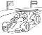 Coloring Motor sports -1